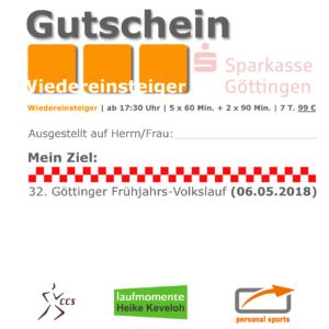 Gutschein-Wiedereinsteiger