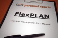 FlexPLAN - Flexibler Trainingsplan für drei Monate